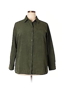 Croft & Barrow Long Sleeve Blouse Size 1X (Plus)