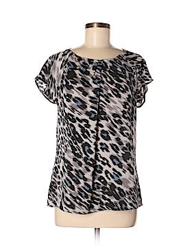 Ann Taylor Short Sleeve Blouse Size 10