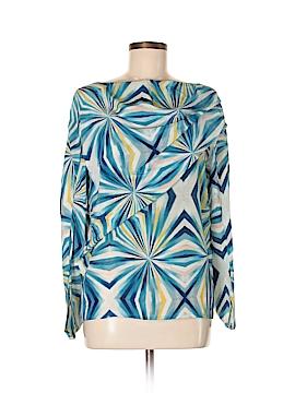 Cacharel Long Sleeve Silk Top Size 6
