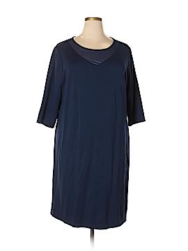 Susan Graver Casual Dress Size 2X (Plus)