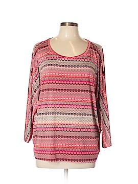 Tribal 3/4 Sleeve Top Size XL