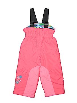 Gagou Tagou Snow Pants With Bib Size 2T