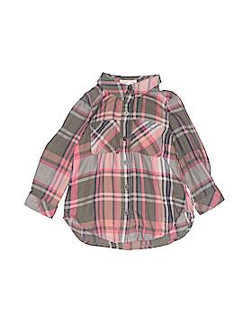 Copper Key Long Sleeve Button-Down Shirt Size 4
