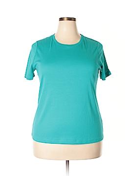 Talbots Outlet Short Sleeve T-Shirt Size 1X (Plus)