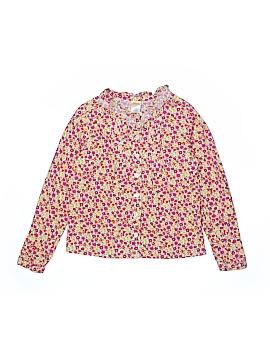 Gymboree Long Sleeve Button-Down Shirt Size 8