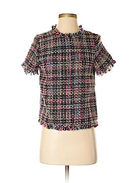 Zara Collection Short Sleeve Button-Down Shirt Size S