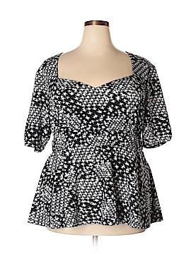 Kiyonna Short Sleeve Top Size 3 (Plus)