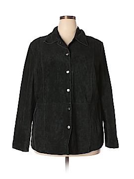 Bernardo Leather Jacket Size 2X (Plus)