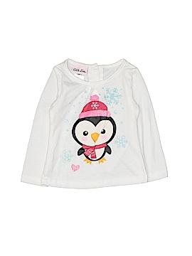 Little Lass Long Sleeve T-Shirt Size 24 mo