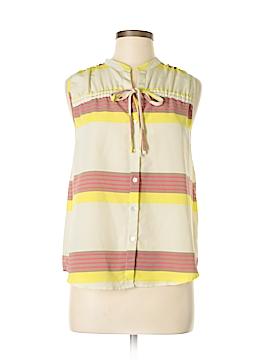 Pim + Larkin Sleeveless Blouse Size S