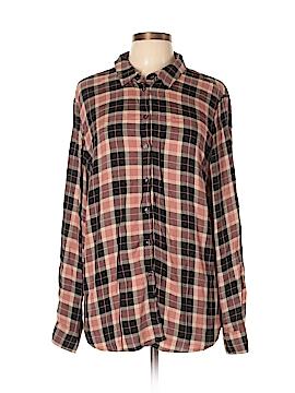 Lila Rose Long Sleeve Button-Down Shirt Size XL