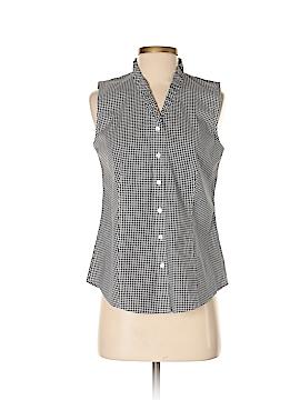 Talbots Sleeveless Button-Down Shirt Size 2