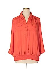 Simply Irresistible Women 3/4 Sleeve Blouse Size 3X (Plus)