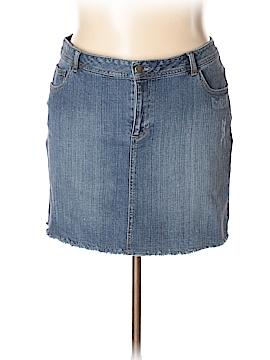 Pure Energy Denim Skirt Size 18 (Plus)