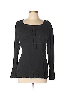 Claudia Richard Long Sleeve Blouse Size M