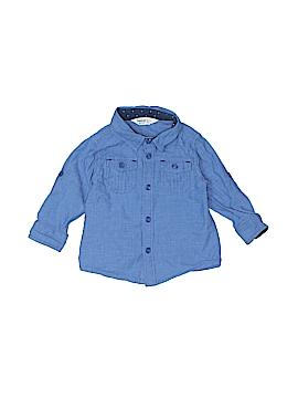 Beebay Long Sleeve Button-Down Shirt Size 6-9 mo