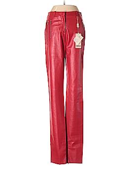 Versus Versace Leather Pants 24 Waist