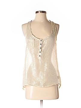 Patterson J. Kincaid Sleeveless Silk Top Size XS