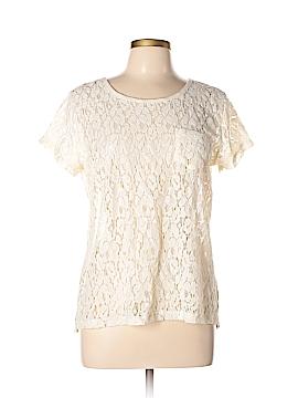 Jcpenney Short Sleeve Blouse Size L