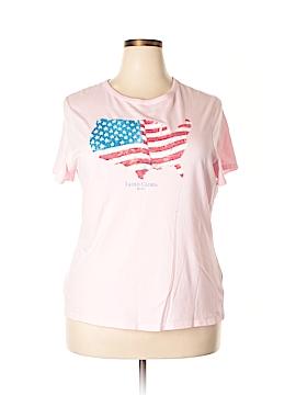 Faded Glory Short Sleeve T-Shirt Size 22 (Plus)