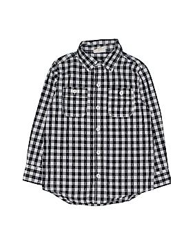 Crazy 8 Long Sleeve Button-Down Shirt Size 4