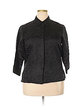 Preston & York 3/4 Sleeve Silk Top Size L