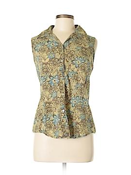 Geoffrey Beene Sport Sleeveless Button-Down Shirt Size 6
