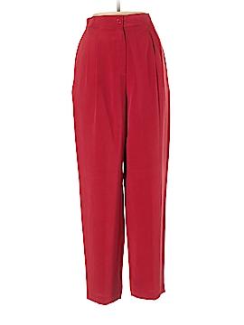 Josephine Chaus Silk Pants Size 8