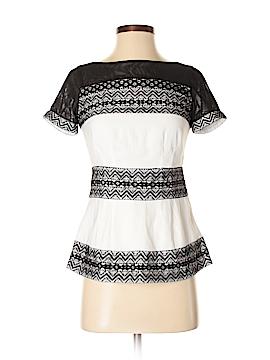 Catherine Malandrino Short Sleeve Blouse Size 0