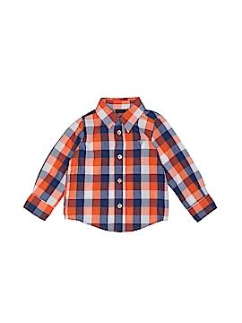 Wrangler Jeans Co Long Sleeve Button-Down Shirt Size 18 mo