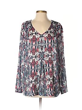 Melrose Long Sleeve Blouse Size S
