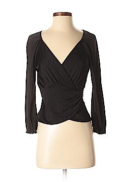 Diane von Furstenberg 3/4 Sleeve Top Size P