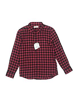 Zara Long Sleeve Button-Down Shirt Size 9