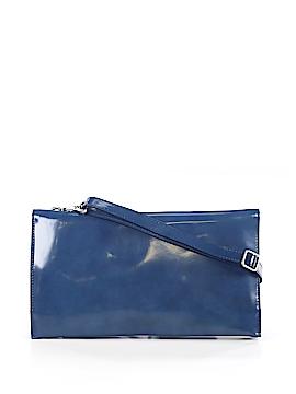 Garnet Hill Leather Crossbody Bag One Size