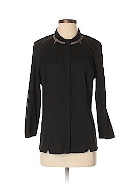 Lafayette 148 New York Long Sleeve Button-Down Shirt Size 10