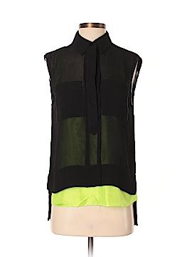 Diane von Furstenberg Short Sleeve Top Size 4