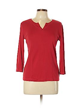 Jones New York Signature 3/4 Sleeve T-Shirt Size M