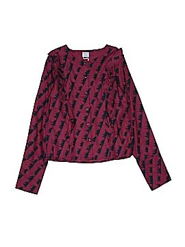 Polarn O. Pyret Long Sleeve Blouse Size 10 - 12
