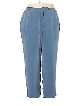 Travis Ayers Silk Pants Size 26 (Plus)