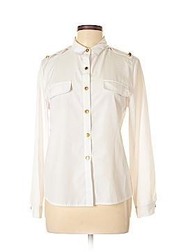 Allegra K Long Sleeve Blouse Size L