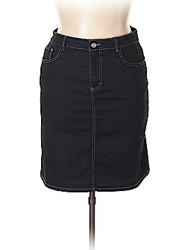 Jaclyn Smith Denim Skirt Size 14
