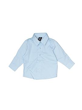Nautica Long Sleeve Button-Down Shirt Size 18 mo