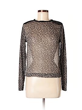 Zara Long Sleeve Blouse Size M