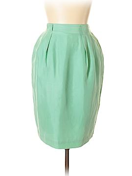 Diane Gilman Silk Skirt Size M