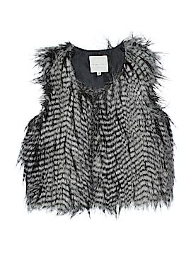 Copper Key Faux Fur Vest Size 7 - 8