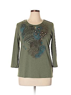 Laura Scott 3/4 Sleeve Top Size XL
