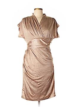 Suzi Chin for Maggy Boutique Casual Dress Size 10 (Petite)