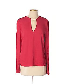 MNG Basics Long Sleeve Blouse Size XS