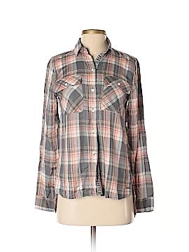 Roxy Long Sleeve Button-Down Shirt Size XS