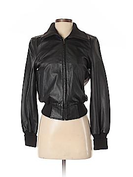 Gap Leather Jacket Size XS